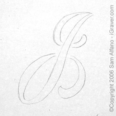 "Letter J In Different Style The letter ""j"" is lightly"