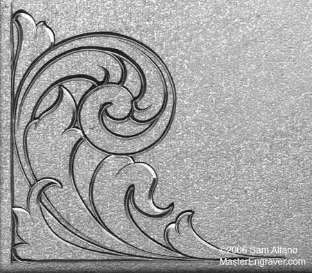 Sam Alfano's Tips & Tricks for Hand Engravers - Relief Engraving